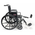 "Wheelchair 16"" & 18"" Desk Arms Elevating Foot Rest, Folding ."