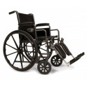 "Wheelchair 20"", 22"" & 24"" Removable Desk Arms Elevating Legs , Folding."